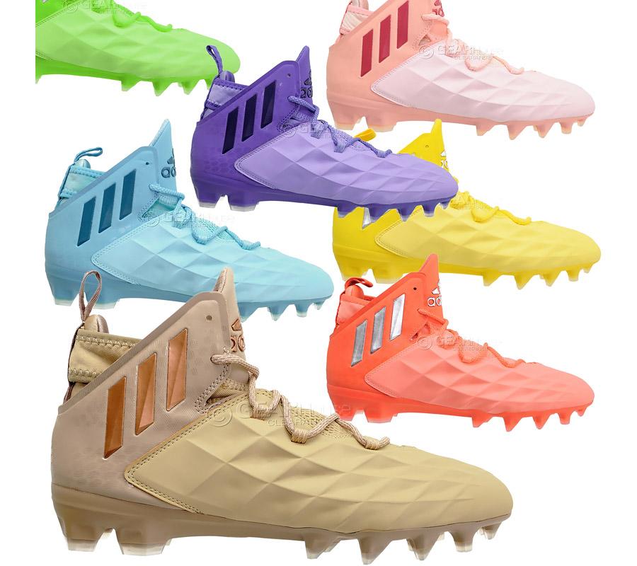 Adidas Freak Mid LAX Herren Lacrosse Stollen Fußball Schuhe Wähle Größe   eBay