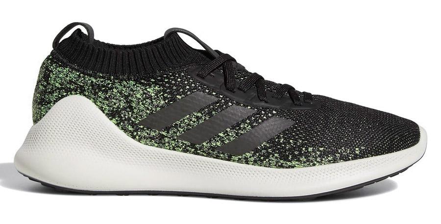 conducir Irradiar Cuerpo  ADIDAS PUREBOUNCE+ Mens Road Running Shoes Pure Bounce - Black Green - PICK  SIZE | eBay